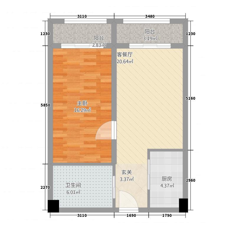 明发商业广场公寓户型