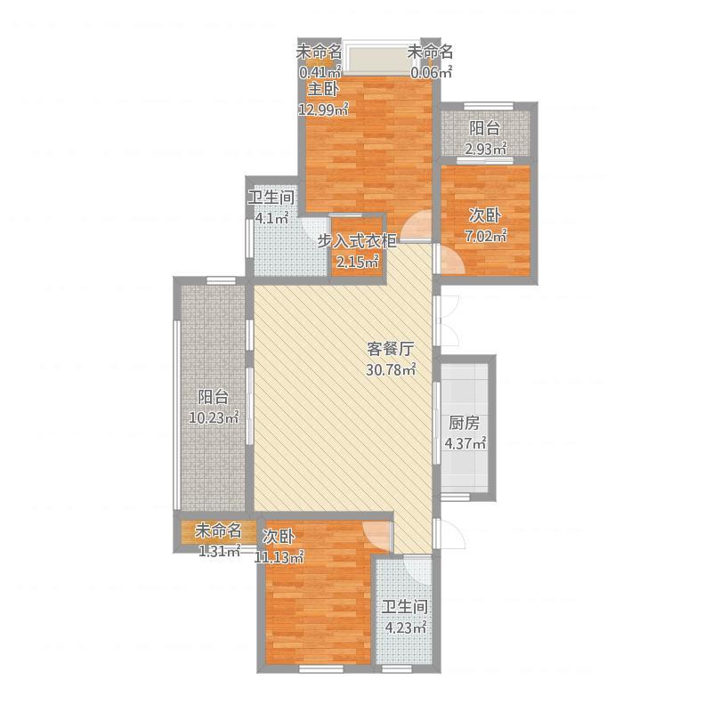 常州_三房两厅两卫145平方米_2015-10-24-1408