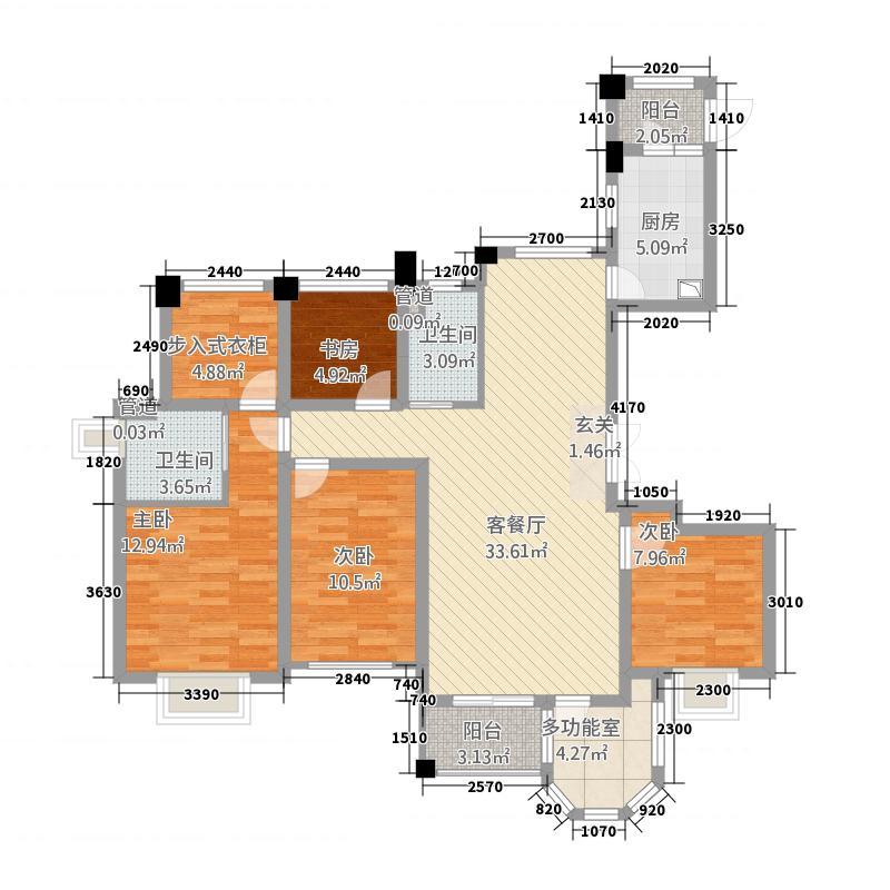 缇香锦园32214.20㎡尚园6栋楼西边套户型3室2厅2卫