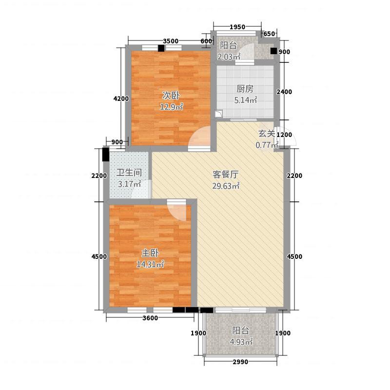 深业商城户型3室
