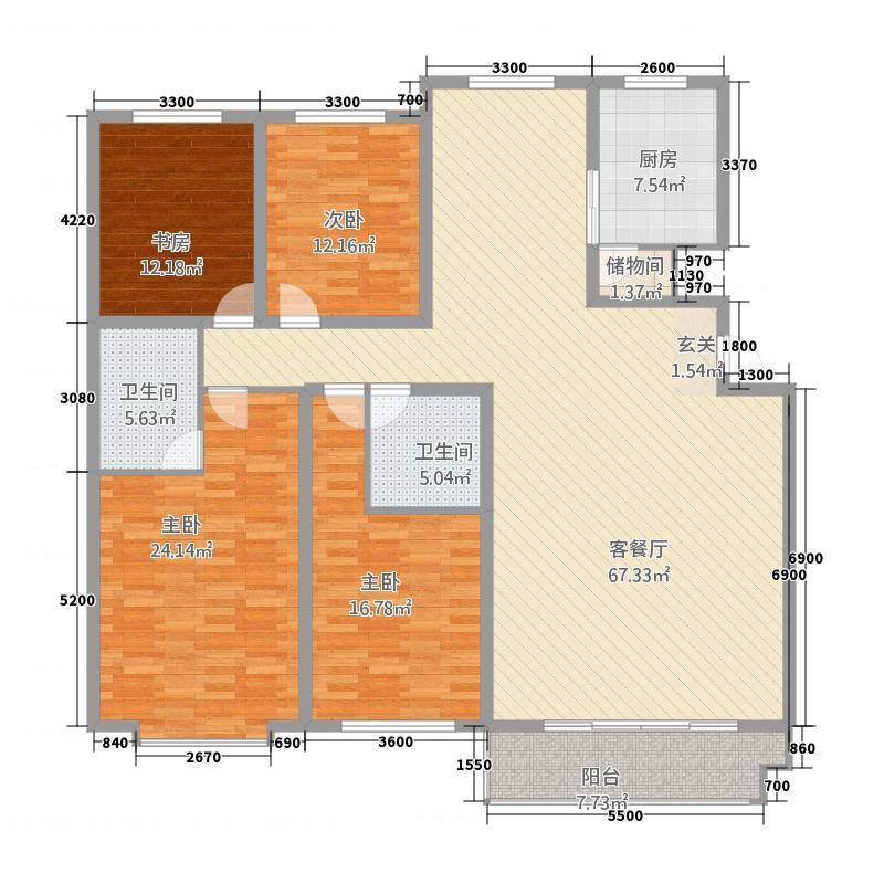 桥华世纪村豪华园桥华世纪村豪华园户型图桥华世纪村5-2-2-15室户型5室
