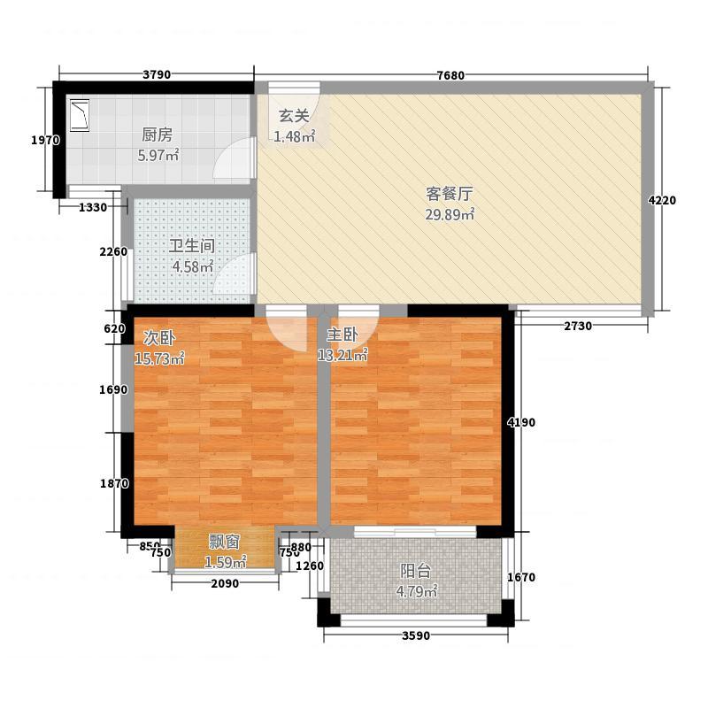 3居105㎡户型