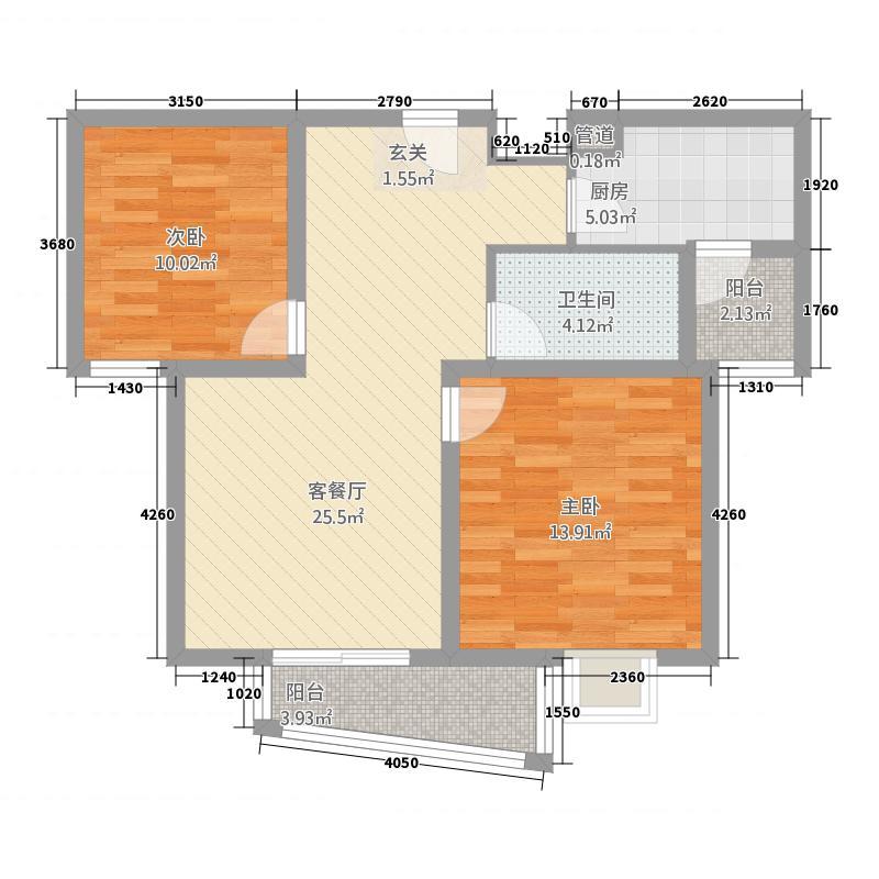 桑铌国际财富广场b户型