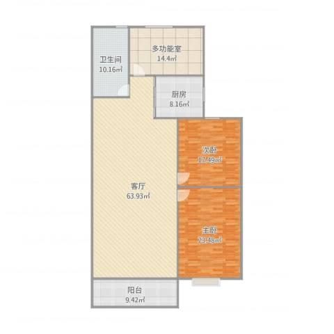 石臼老街2室1厅1卫1厨194.00㎡户型图
