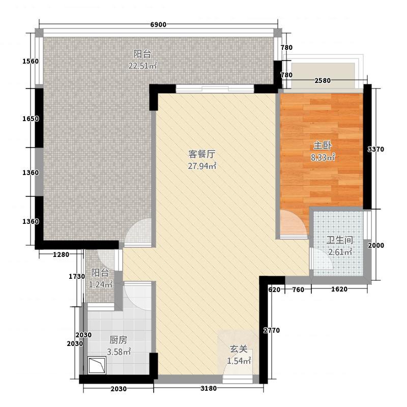 三远大爱城16栋04/05户型