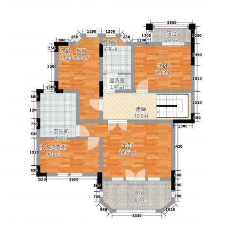 岷山拾阶公馆3室1厅2卫0厨223.00㎡户型图