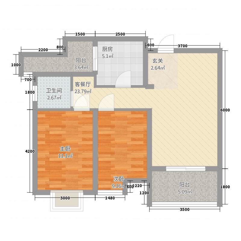高科广场西安户型