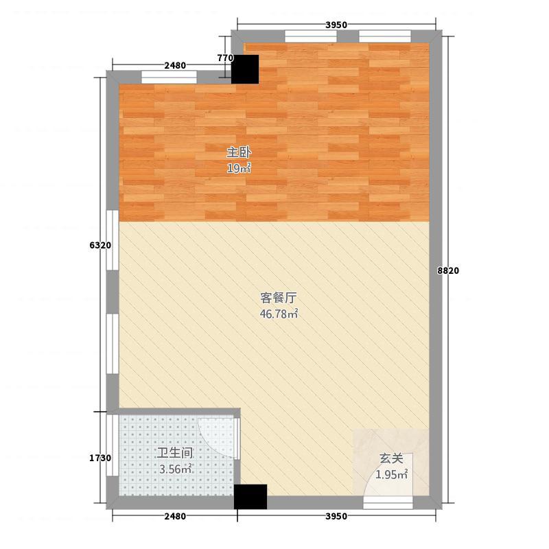 华美立家SOHO公寓2户型