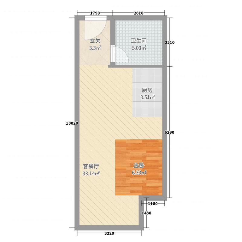 创享公寓户型