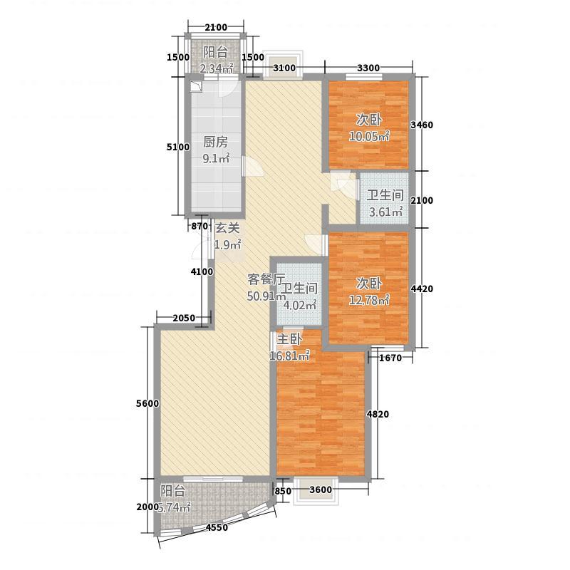 优山美地158.00㎡优山美地户型图户型23室2厅2卫户型3室2厅2卫