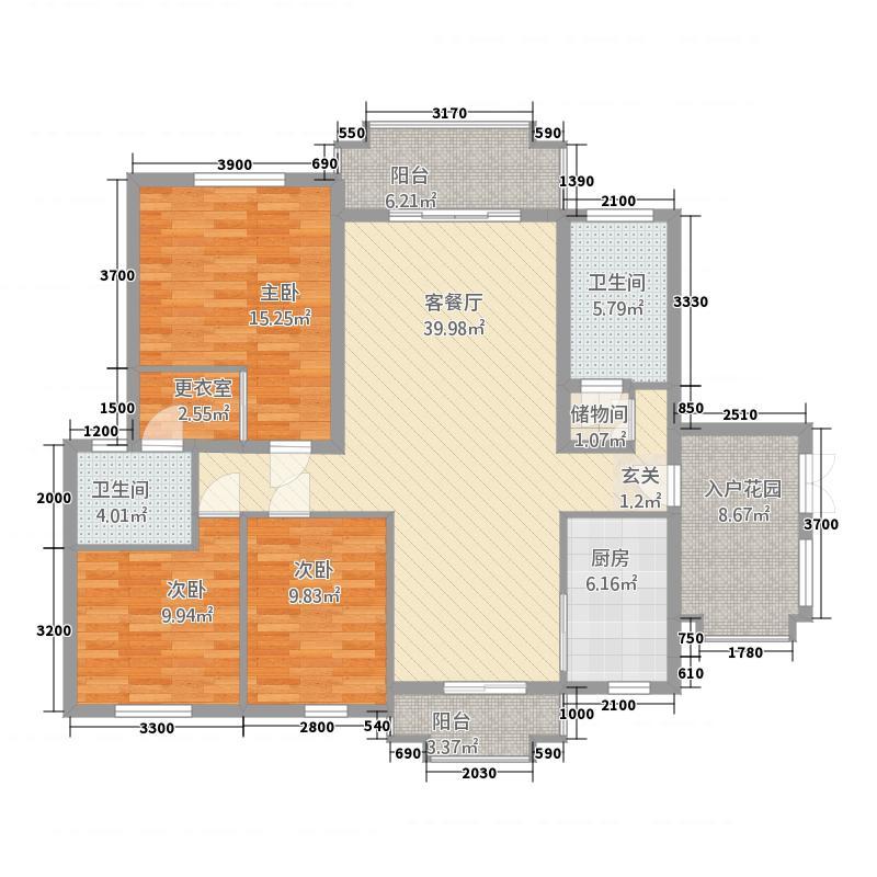 锦绣名城1栋602户型