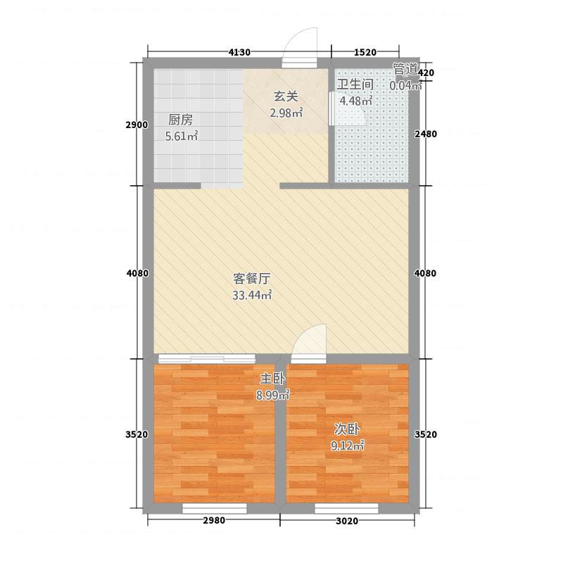 赤峰石材城213121472.00㎡20131214142937_户型2室1厅1卫1厨