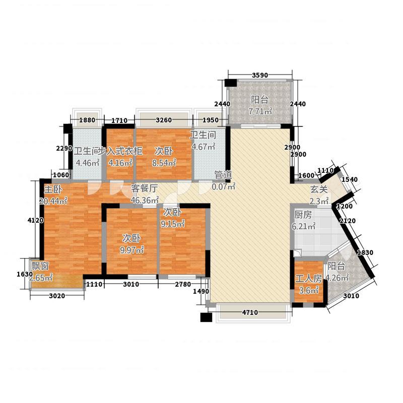 泛海拉菲花园别墅B1+B2设计师推荐方案户型