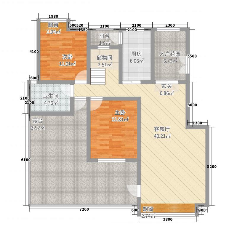 金色愿景二期148.00㎡D1户型4室2厅2卫1厨