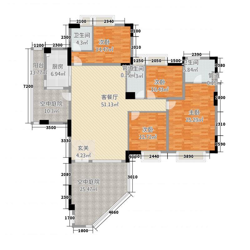 海畔嘉苑18.40㎡8栋3-14层B户型