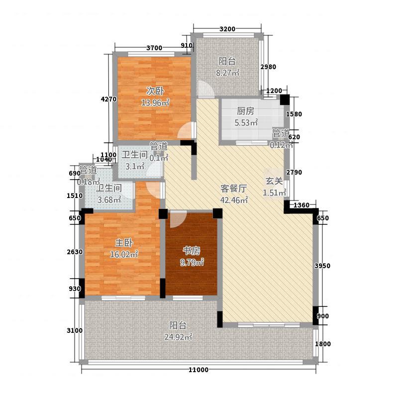 学苑小区1户型2室