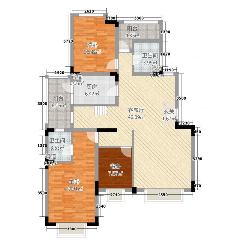 学苑小区2户型2室