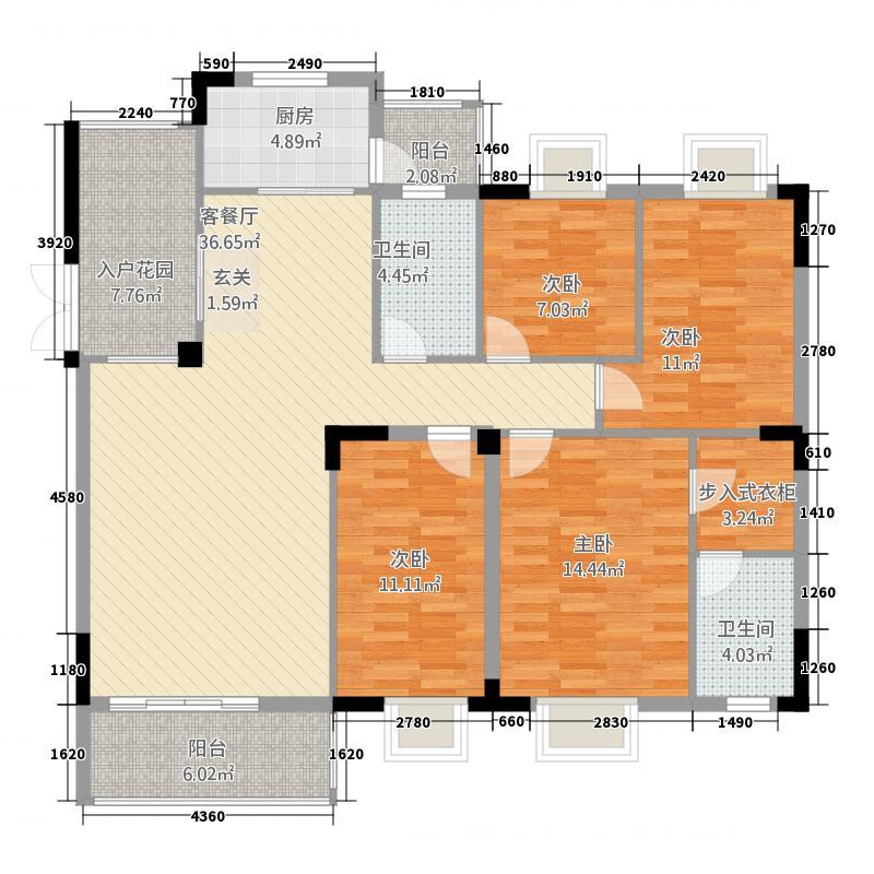 金椅豪园金椅豪园户型4室2厅户型4室2厅