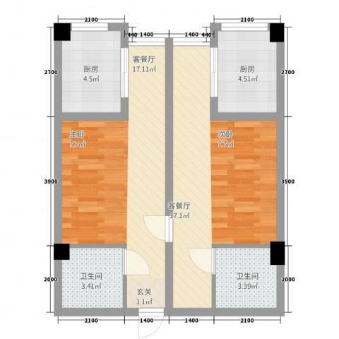新里程尊域2厅2卫2厨576.00㎡户型图