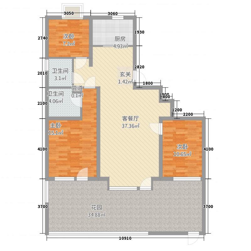 莲花湖公寓户型