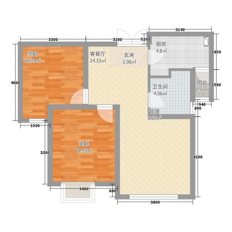 正弘山户型2室