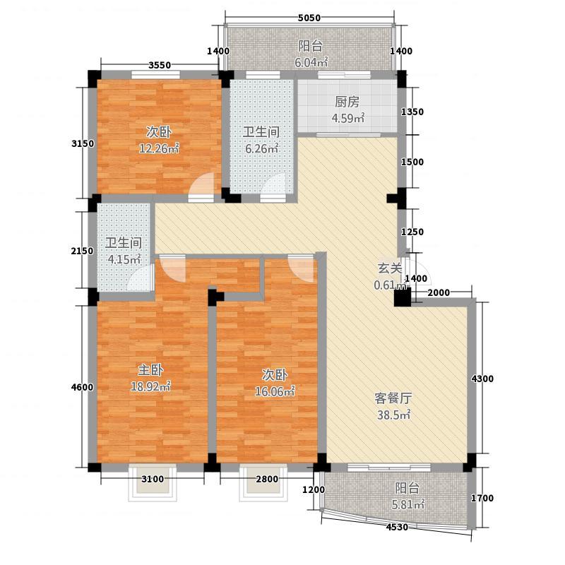 文泽园户型3室