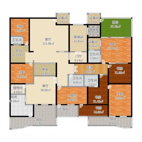 丰卉家园8室2厅4卫1厨799.00㎡户型图
