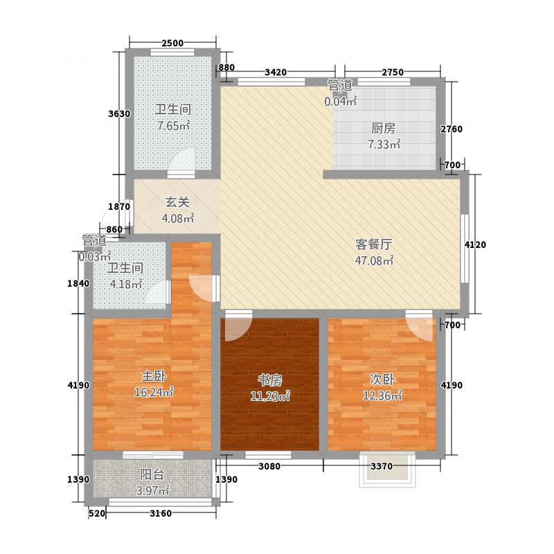 家和园146.00㎡D户型