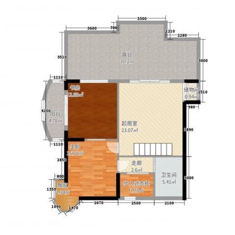 利玛・国际锦苑2室0厅1卫0厨140.00㎡户型图