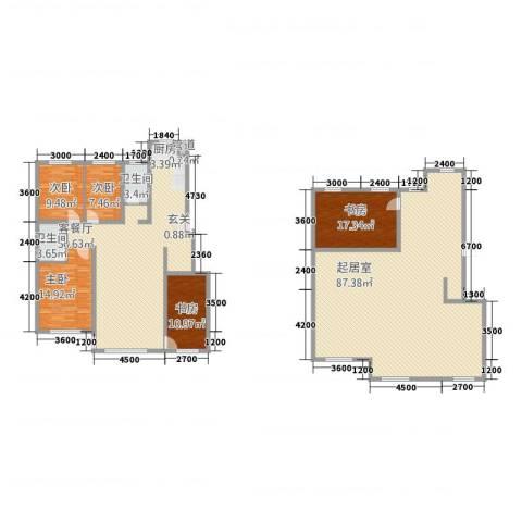 城润万家5室1厅2卫0厨205.47㎡户型图