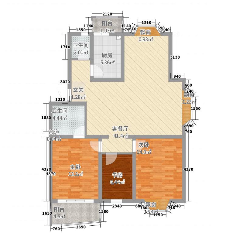 盘城公寓16.00㎡户型2室