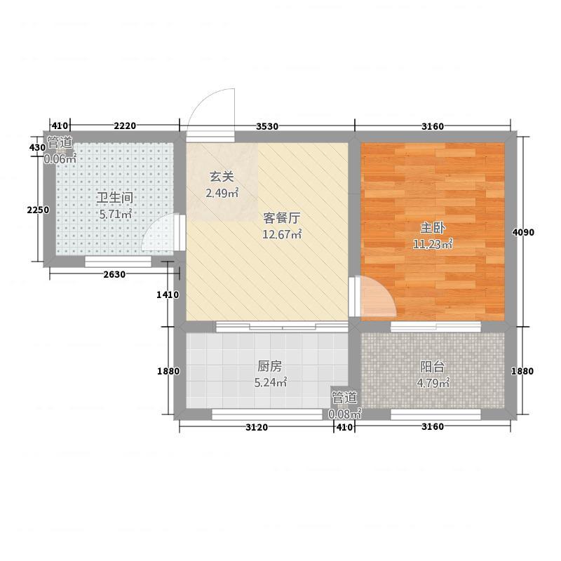 微客公寓4.20㎡4户型
