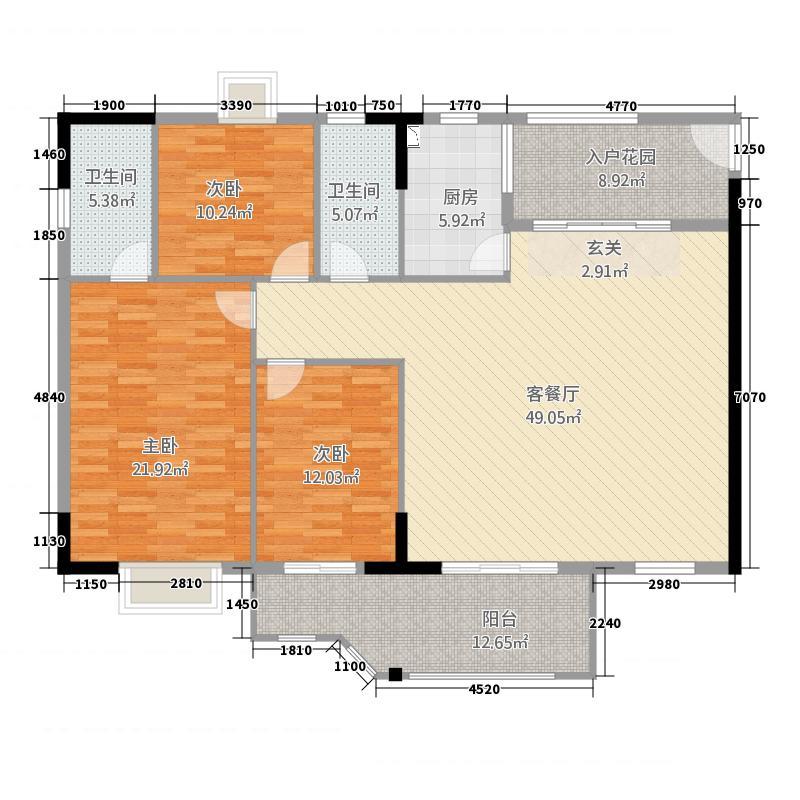 金河水岸2E-2H栋-0205户型