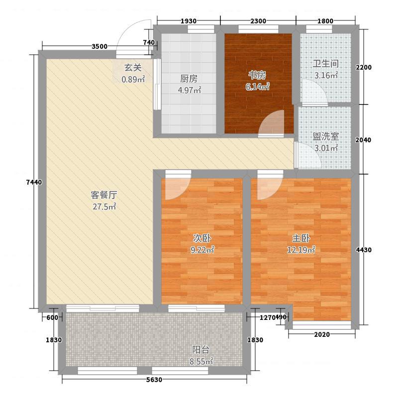玉带公寓户型