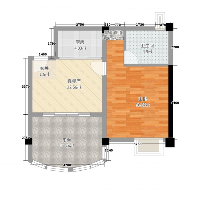 广源小区户型2室