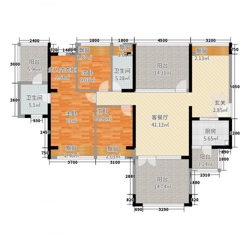 滨福世纪广场深圳户型