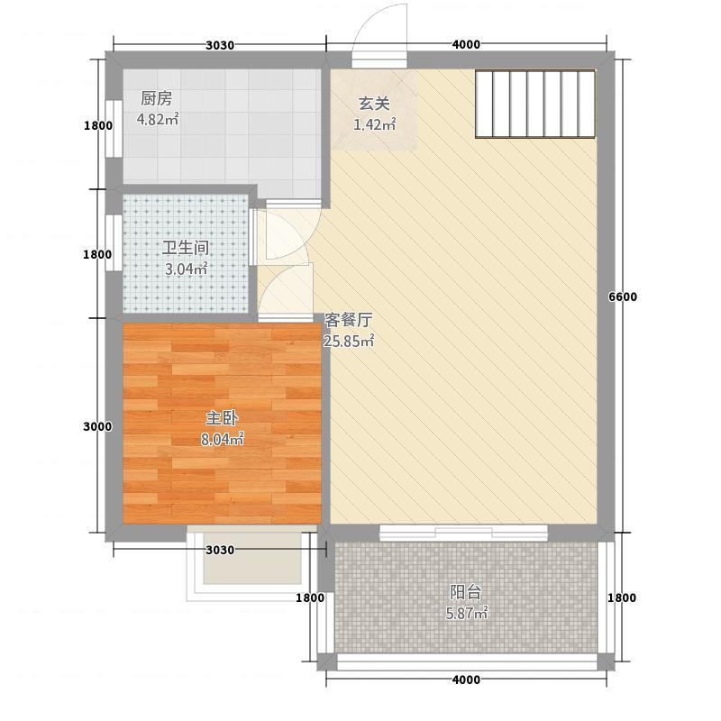 凭祥世贸天城832121.44㎡户型3室2厅2卫1厨