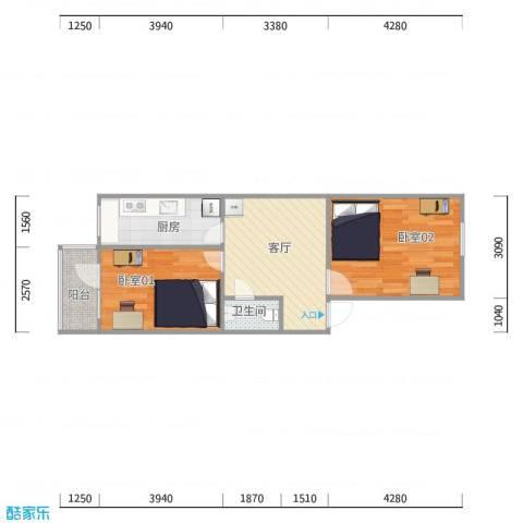 柳芳北街9号院2号楼3单元2层202