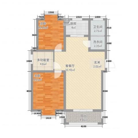 一品和�2室1厅1卫1厨1211.00㎡户型图