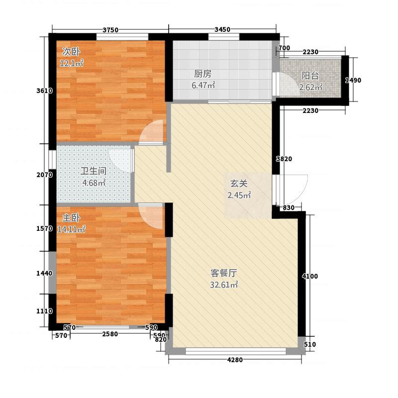 雪域尚品公寓11.20㎡户型
