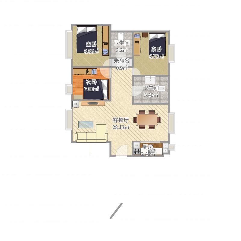 广州_海纳公馆6栋603_2015-11-07-1416