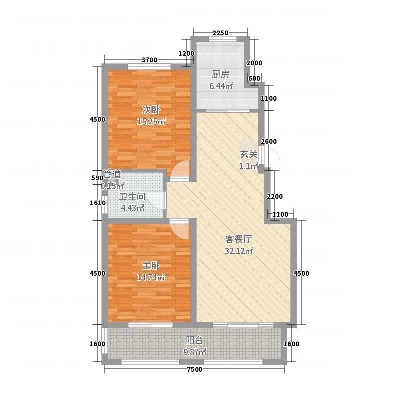 固原东海太阳城21416.20㎡2014518214998242egfg户型2室2厅1卫1厨