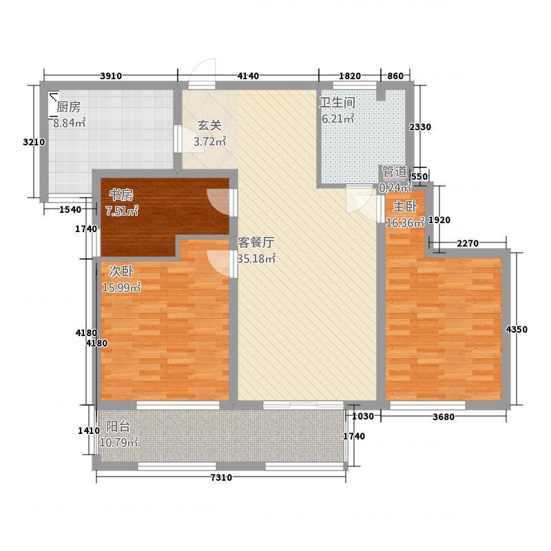 银杏商业街143.20㎡001403户型