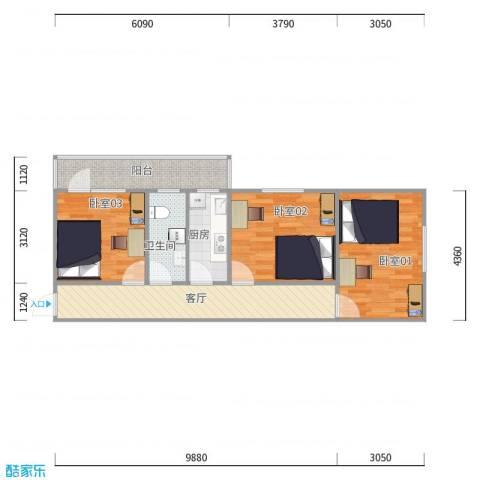 魏公村8号院1号楼0单元1层101