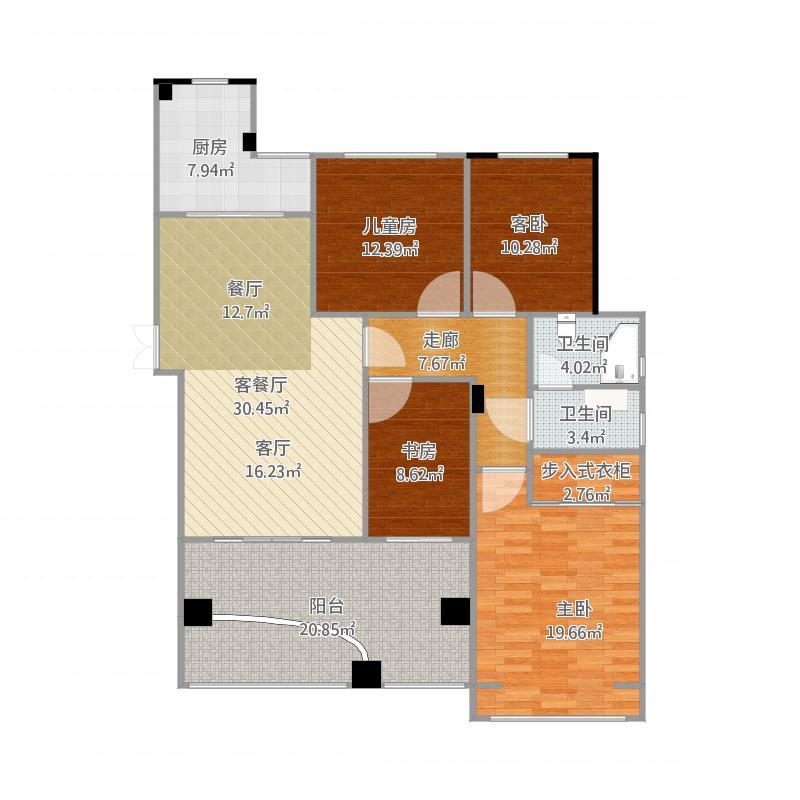 房型平面图