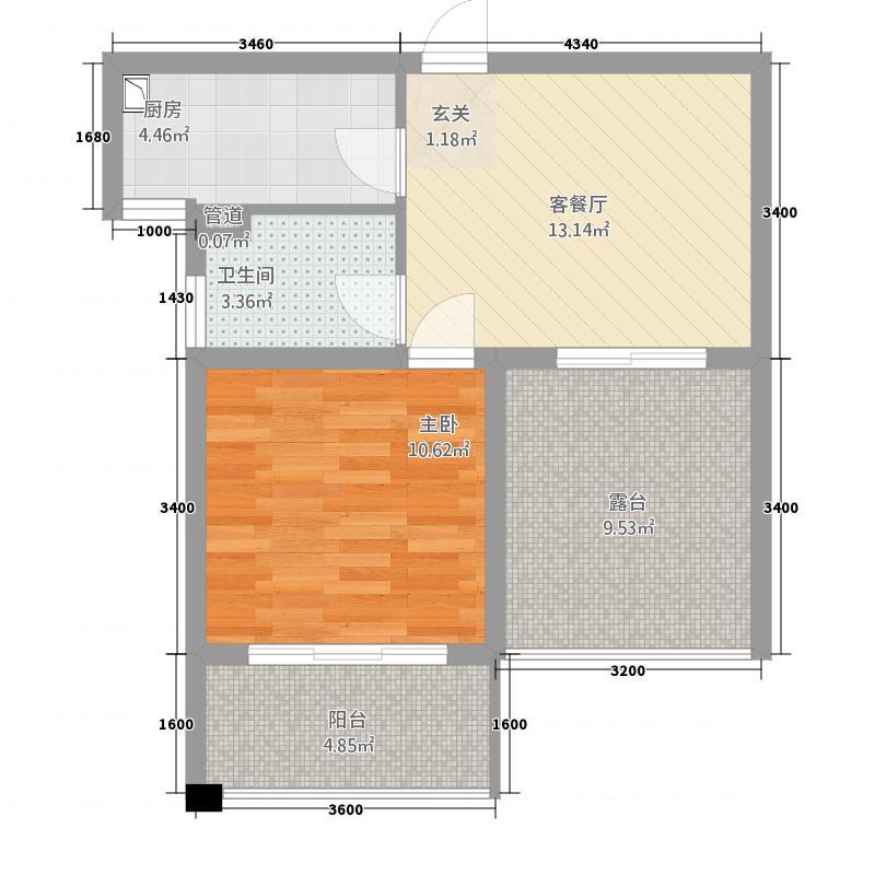 凯悦金领公寓B户型