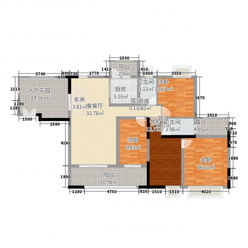 城市假日E区12.00㎡7号楼A栋0户型4室2厅