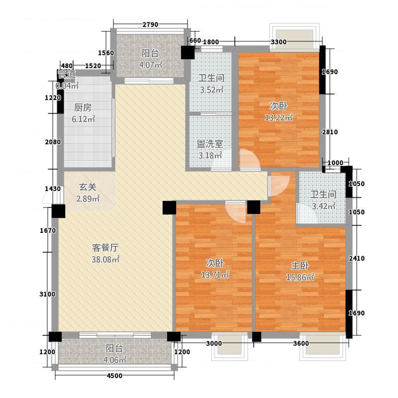 问天・智汇东城32121.42㎡3-户型3室2厅2卫1厨