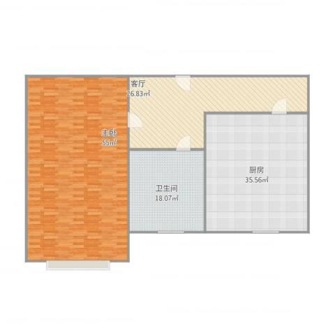 永乐小区1室1厅1卫1厨177.00㎡户型图