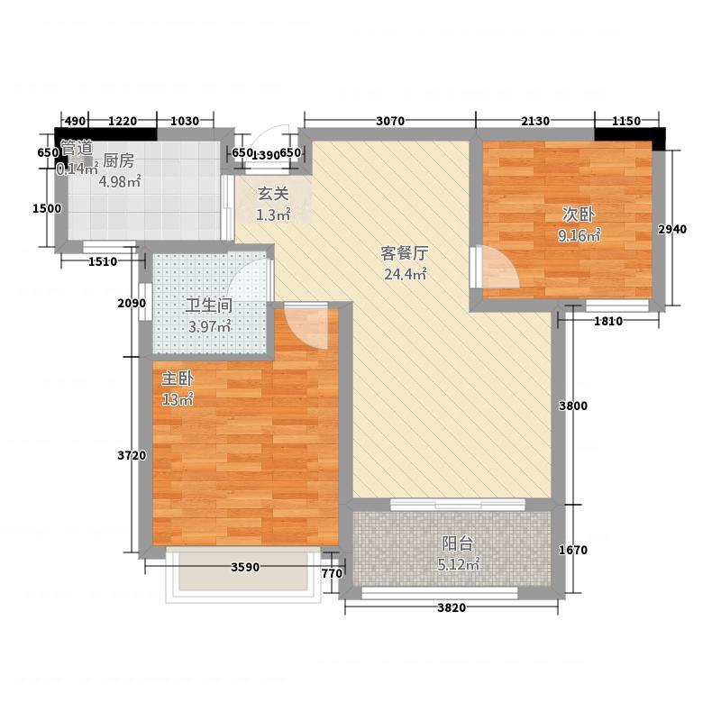 新月半岛215832144.00㎡201583214543463户型2室2厅1卫1厨